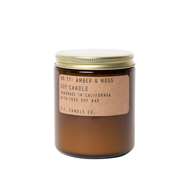 P.F. Candle Co Amber & Moss Duftlys 200ml