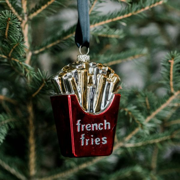 The Hice French Fries Ornament